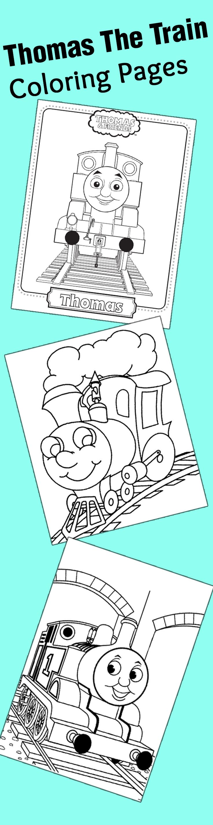 Top 20 Free Printable Thomas The Train Coloring Pages line