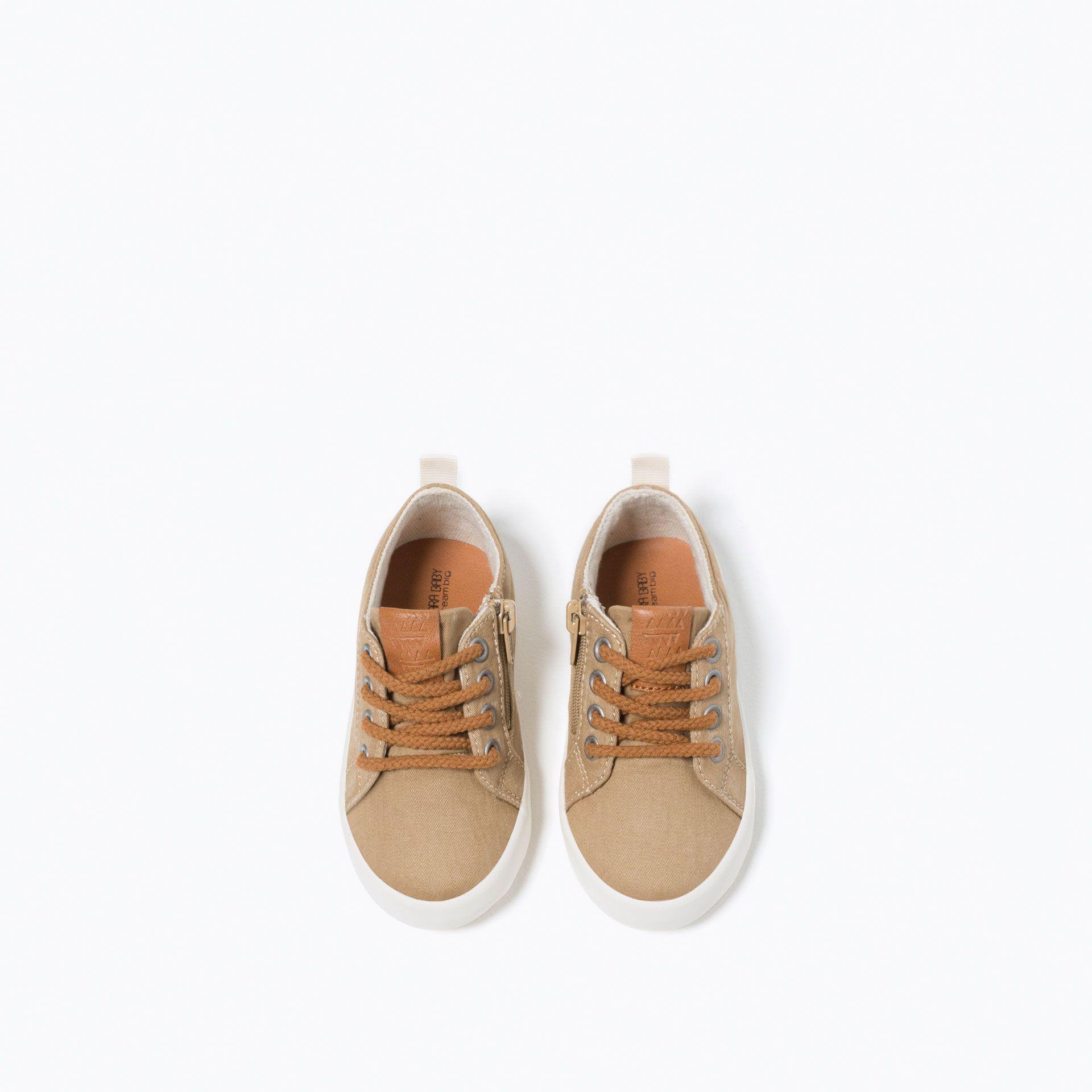 Tekstylne Tenisowki Z Suwakiem Buty Niemowle Chlopiec 3 Miesiace 4 Lata Dzieci Sperry Sneaker Sneakers Shoes