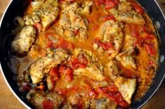 "This is called ""Get Your Man"" Chicken from Pat & Gina Neely, but I must say I watched my great aunt Dezoria Conyers cook this chicken a many of evenings when I was a kid. I even made it once myself and it was delish! Mmm good!"
