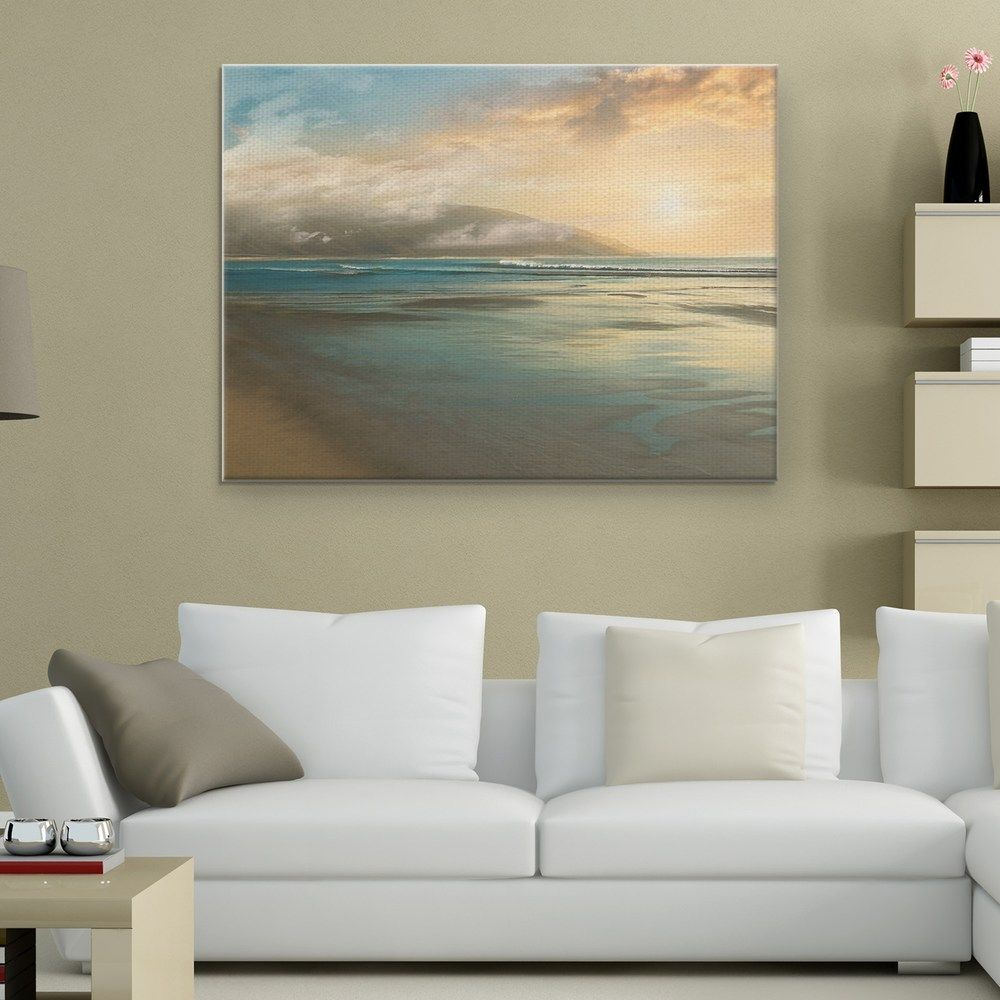 Island Mist 30 X 40 Canvas Wall Art Landscape Canvas Art Wall Canvas Landscape Canvas