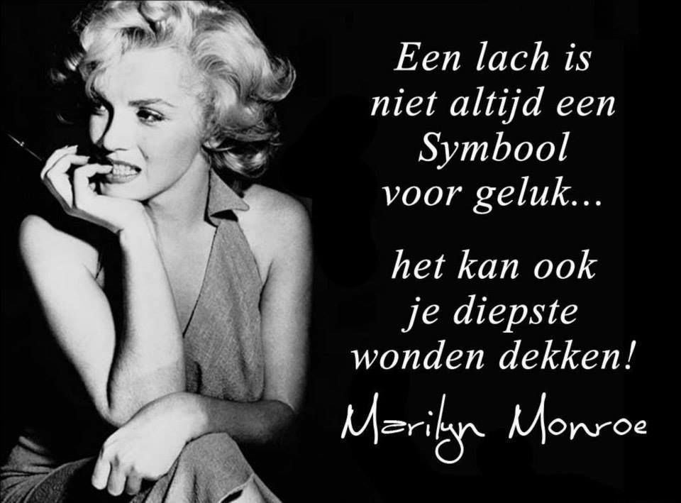 Citaten Marilyn Monroe Chord : Lachen als een boer met kiespijn recht uit het hart