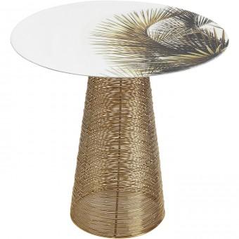 Beistelltisch Charme Palm O40cm Beistelltisch Tisch Kare Design