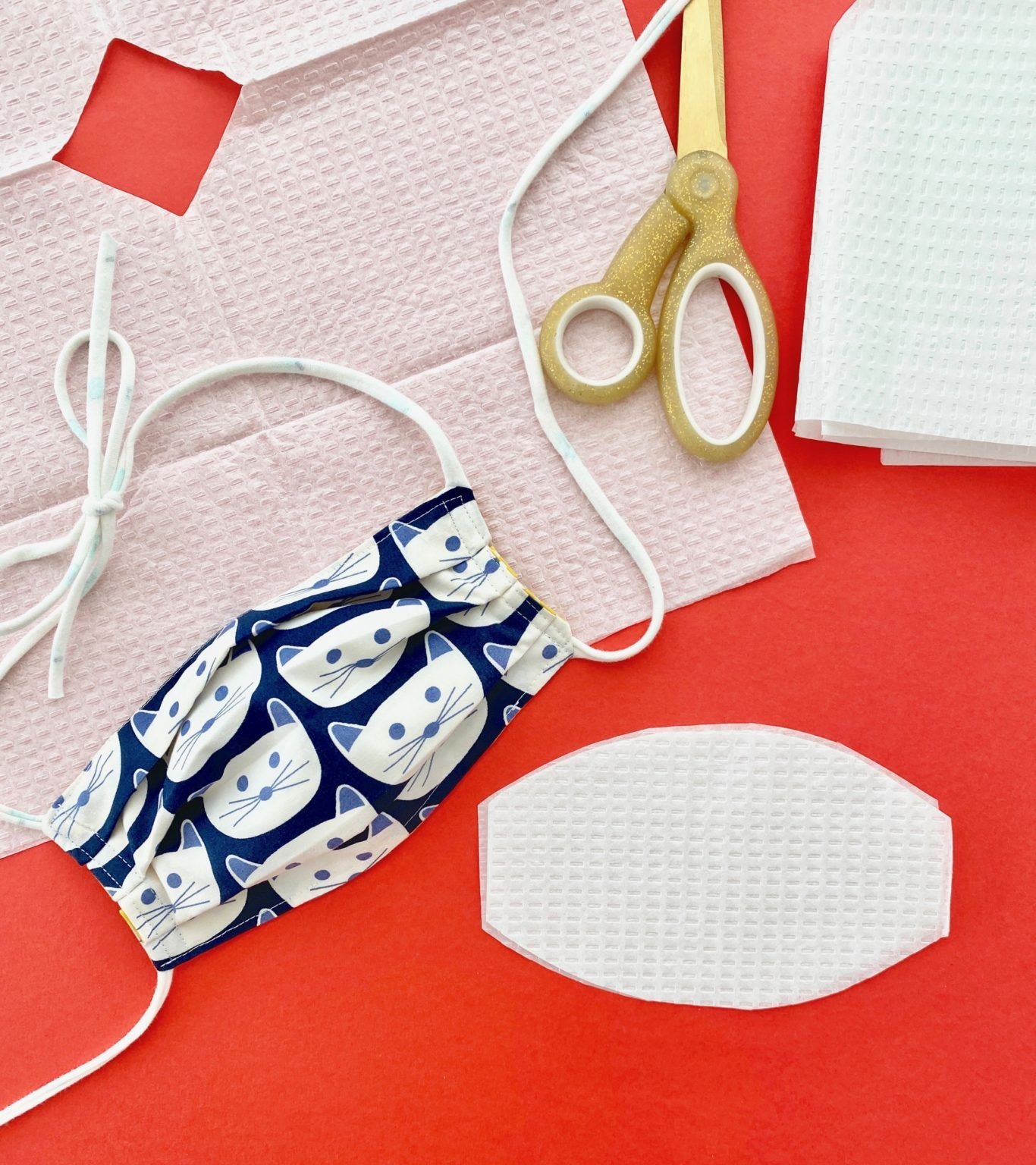 Fabric Face Mask With Ties Sewing Machine Projects Sewing
