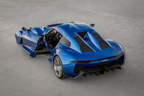Rezvani Beast Alpha Supercars Toekomstige Auto Sportwagens