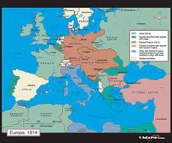 Political Map Of Europe In 1914 This Shows The Political Viewpoint Of Ww1 It Shows Land And Who Controlled It Map Political Map Europe Map