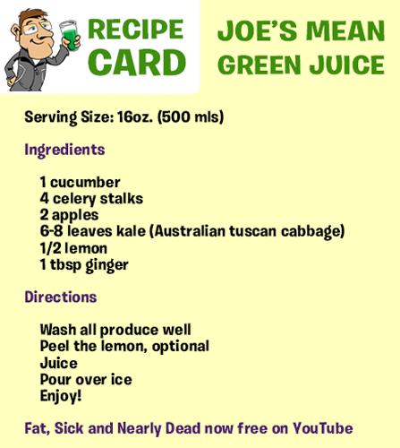 Celebrate Your Success - Joe Cross  Green juice recipes, Detox