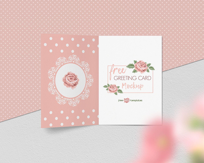 Free Greeting Card Mockup Set Free Mockup Free Greeting Cards Free Mockup Cards