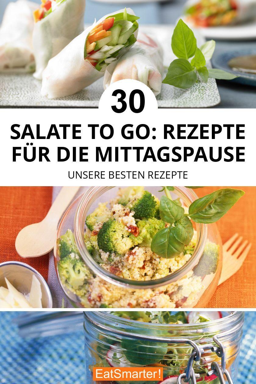 Küchen Zum Mitnehmen : salate to go rezepte f r die mittagspause in 2019 ~ Watch28wear.com Haus und Dekorationen