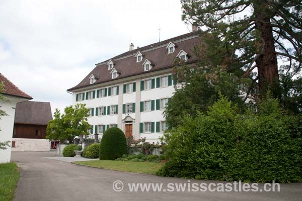 Castle Gachnang - our noble house in Switzerland where my family ruled over the municipality in the 1300's