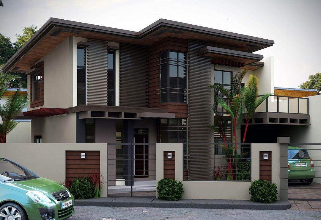 Outstanding 25 Top Minimalist House Design 1st Floor Https Hroomy Com Home Decor 25 Top M 2 Storey House Design Minimalist House Design Modern House Exterior