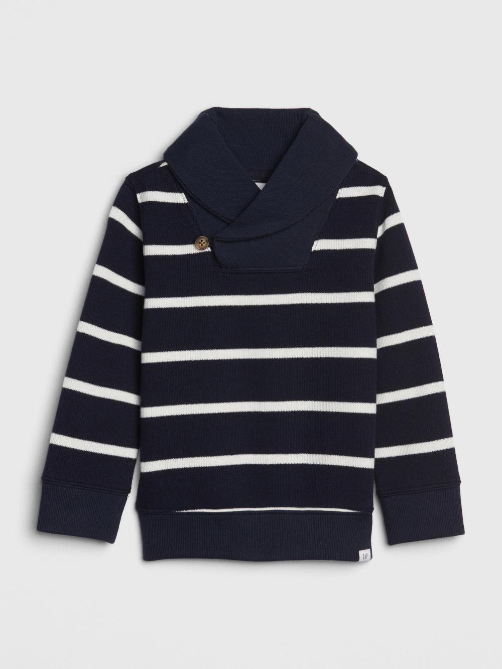 GAP Kid Sweatshirt Pullover Long Sleeve Collar Neck