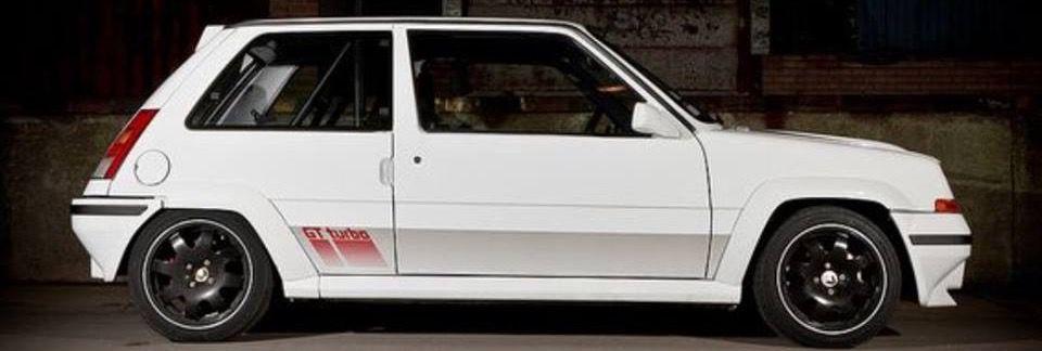 Renault 5 Gt Turbo White Renault 5 Renault 5 Gt Turbo Turbo