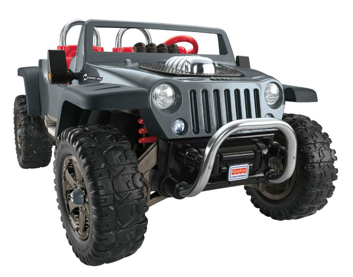 Power Wheels Jeep Hurricane Extreme 12 Volt Ride On Power Wheels