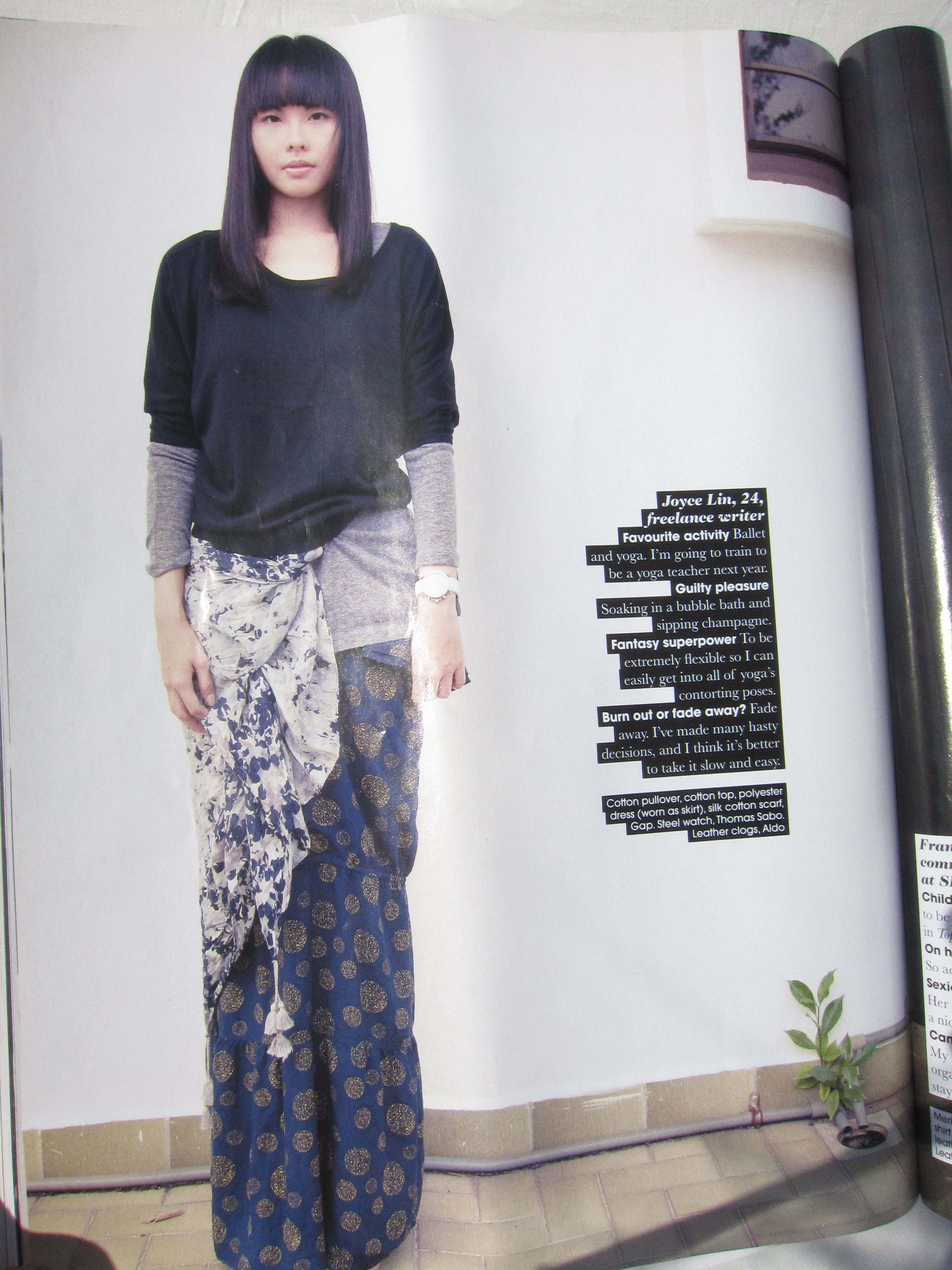 obsessed with this styling of gap clothes out of a thai fashion magazine. Basics in a so not basic way! Also loving that haircut.