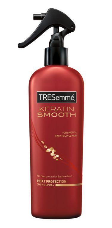 Tresemme Keratin Smooth Heat Protection Shine Spray Reviews Tresemme Keratin Smooth Heat Protectant Hair Keratin