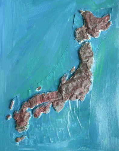 salt dough map of japan   Ge-og-ra-phy {Earth Writing}   Geography ...