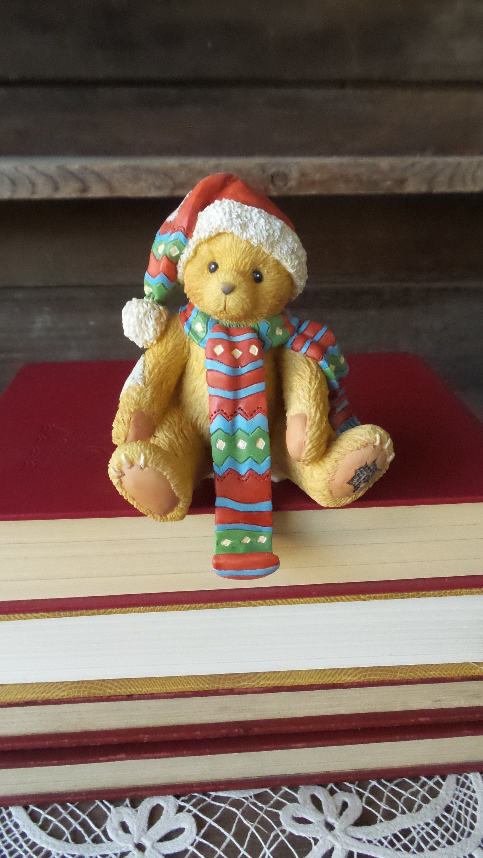 Teddy Bear Stocking Hanger Enesco Cherished Teddy Stocking Bear Stockings Stocking Hanger Vintage Christmas Stockings