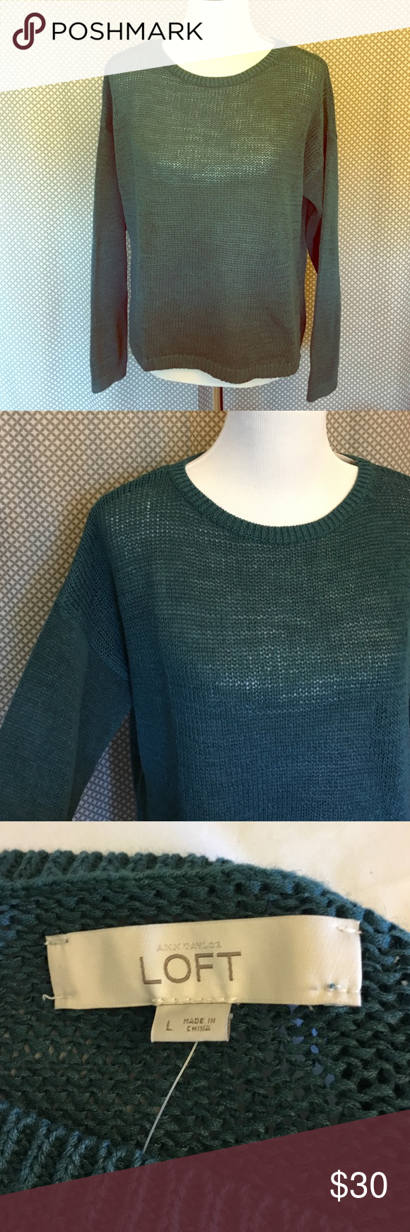 LOFT Slouchy Sweater Transition to fall with this casual slouchy sweater. Layer with a camisole. NWT. Happy to offer bundle discounts! 💗 LOFT Sweaters Crew & Scoop Necks