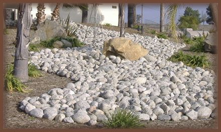 1000 images about river rocks landscaping on pinterest river rocks river rock landscaping and rocks - River Rock Design Ideas