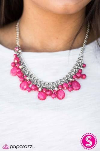 Paparazzi Pink Pearl Earrings
