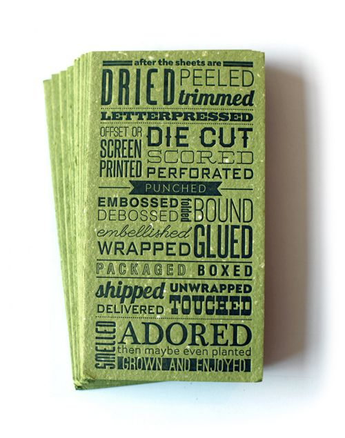 Issue 12 pinterest typography letterpresses and business cards green from uppercase colourmoves