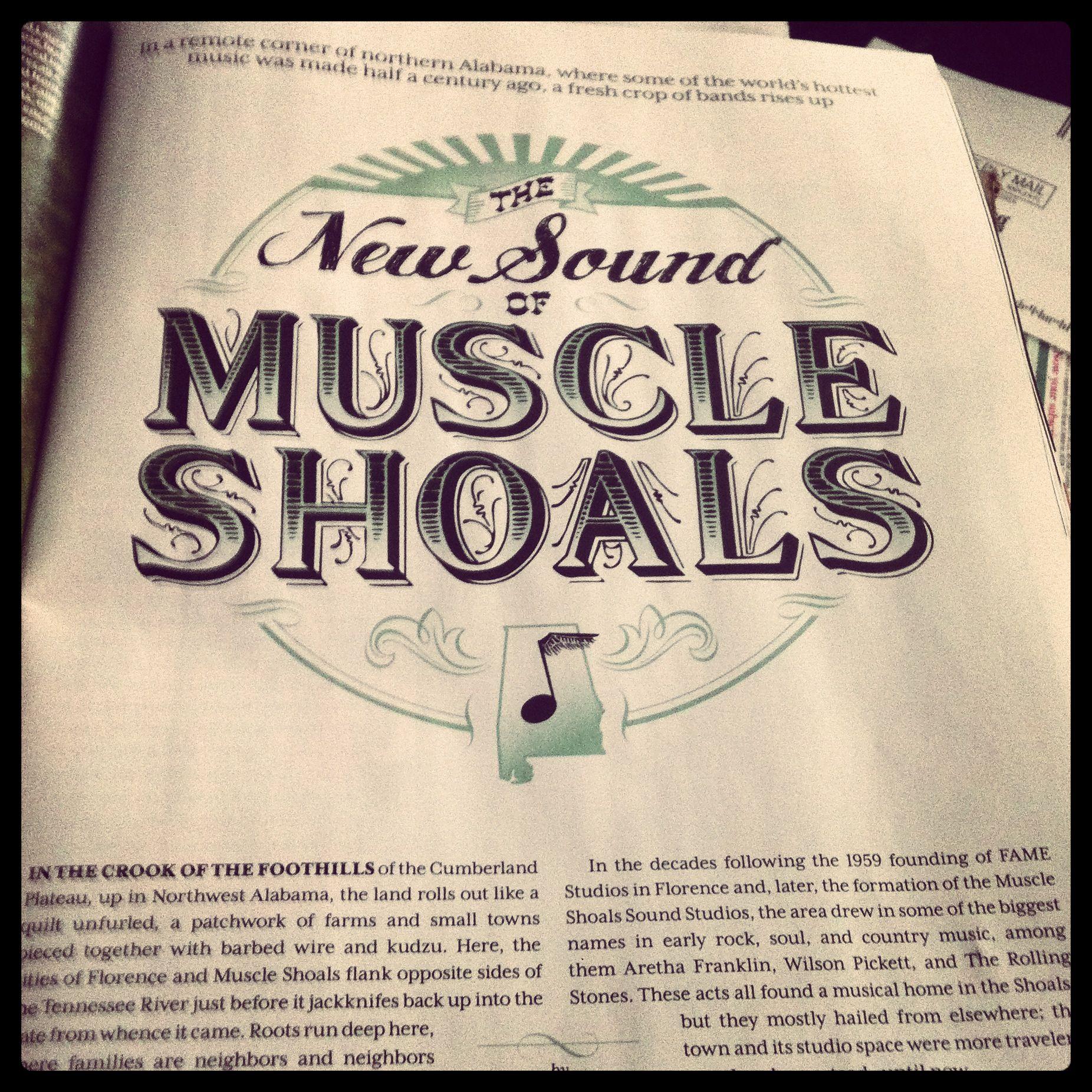 Muscle Shoals Alabama, Muscle