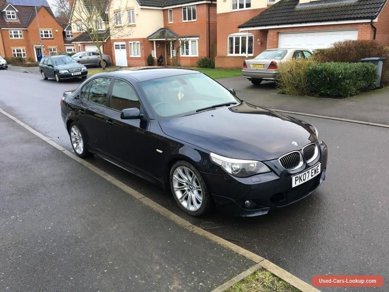 2007 Bmw 525d M Sport A Black Bmw 525dmsporta Forsale Unitedkingdom Bmw 525d Bmw Cars For Sale