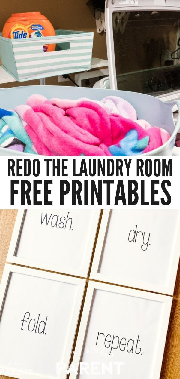 Free Laundry Room Printables & Quick Laundry Tips! images