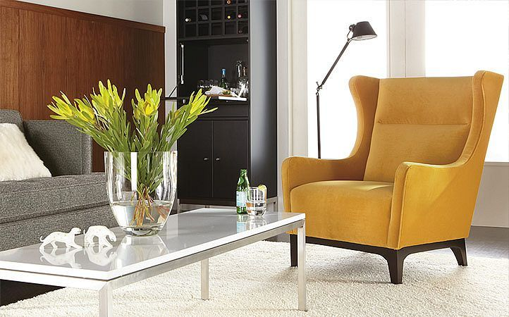 Best Yellow Chair Floor Lamp What I Can See Of The Couch 400 x 300