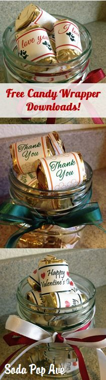 candy wrapper downloads for all occasions share your craft