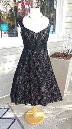 1950's #cherryvelvet dress $189  www.jazmineharbour.ca