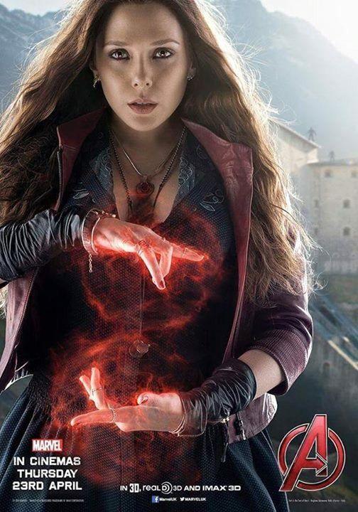 Avengers: Age of Ultron - Scarlet Witch - Wanda Maximoff