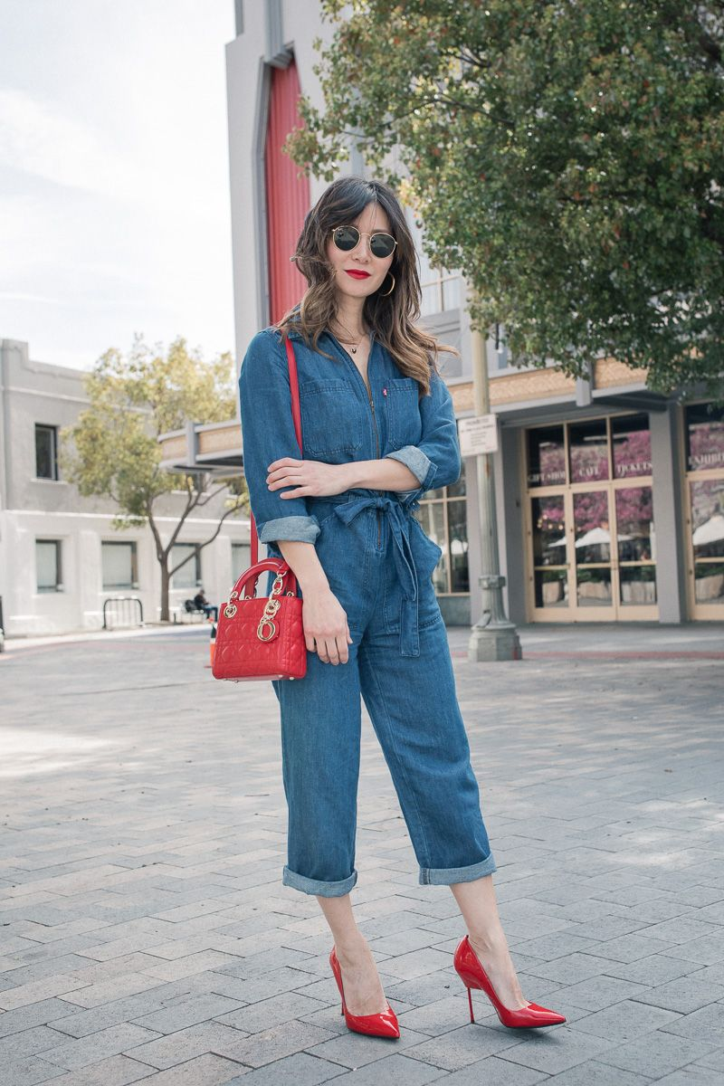 Denim Jumpsuit from Day to Night  45523fd2dc534