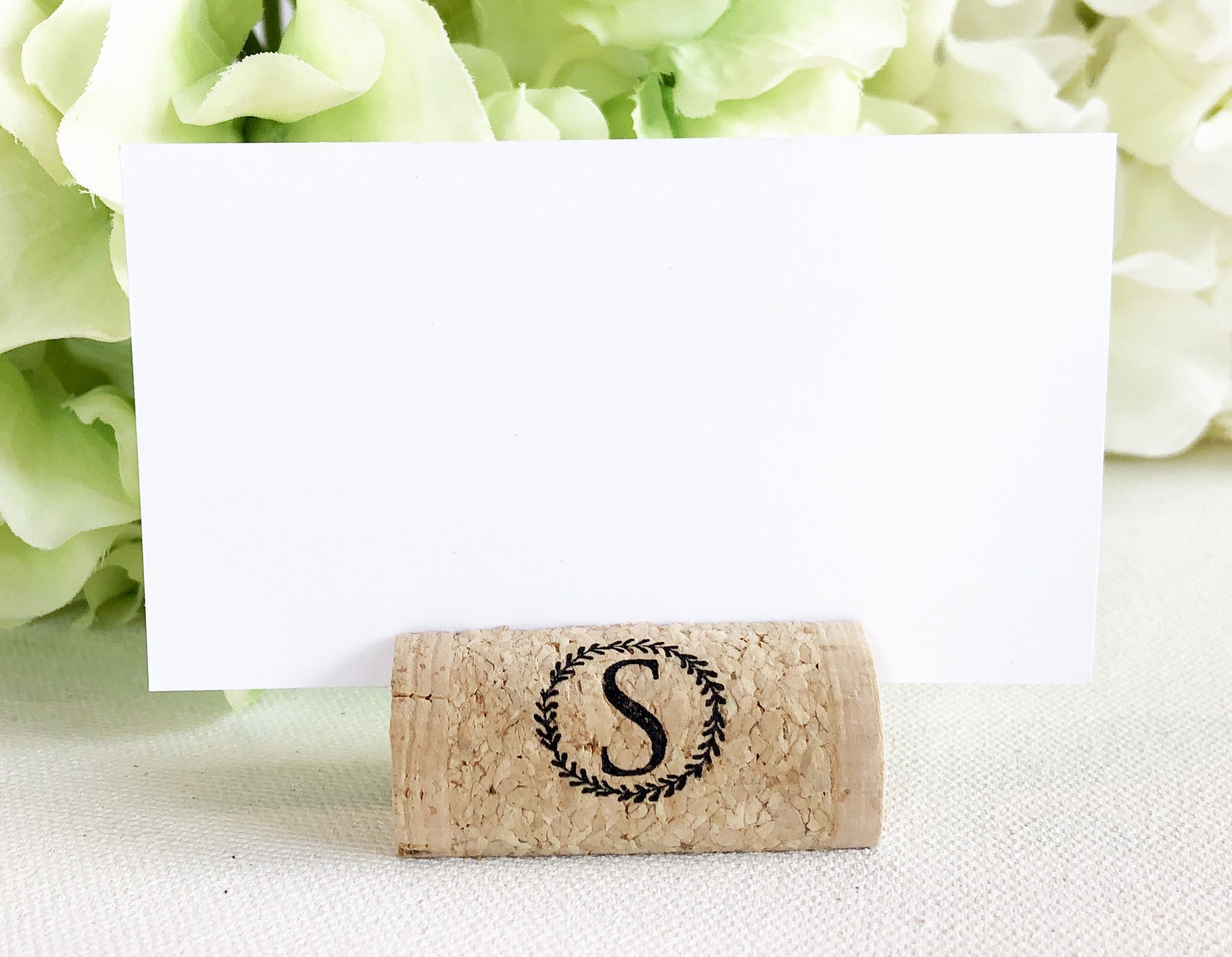 Magnetic Wine Cork Place Card Holders Font 2 In 2018 Custom Wine