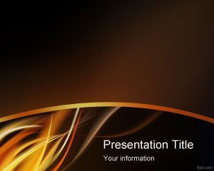 Fire Flame Powerpoint Template Ppt Template  Powerpoint