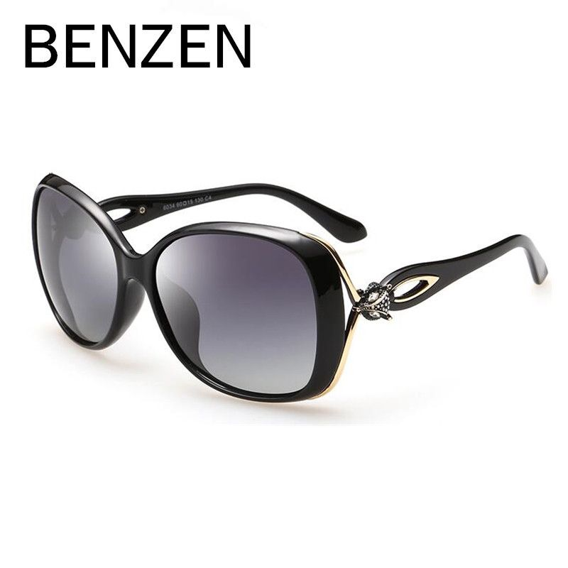 ba536702afc BENZEN Sunglasses Women Polarized Female Sun Glasses For Driving Luxury  Ladies Shades Eyewear Accessories With Case 6179