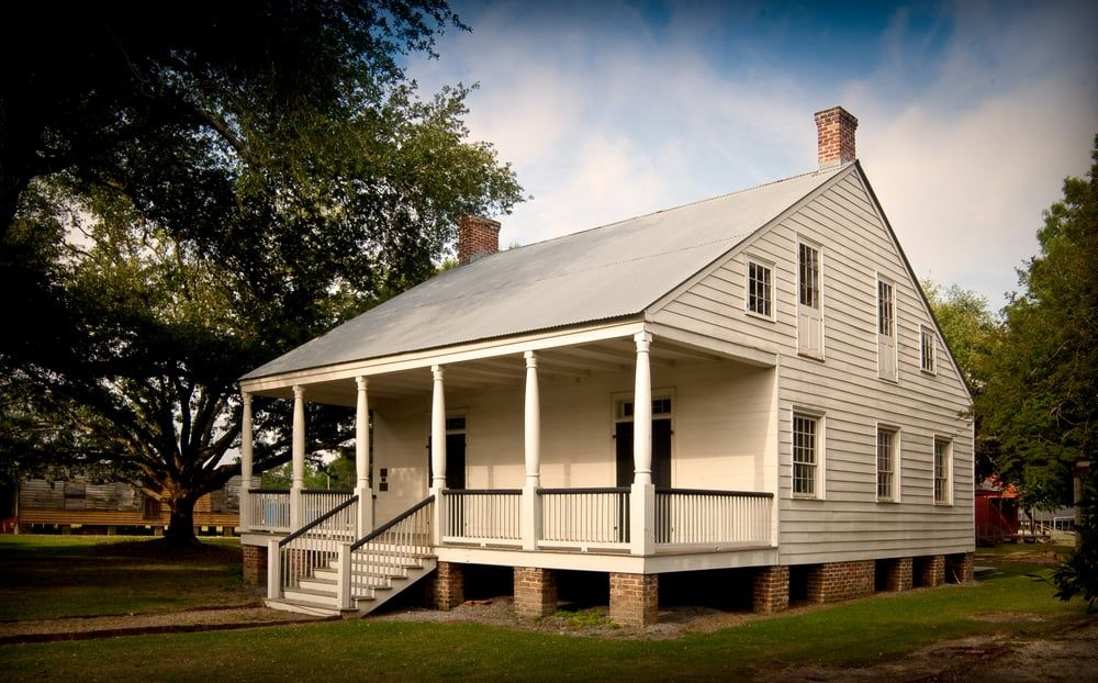 Aillet House West Baton Rouge Museum LA ca 1830 Colonial