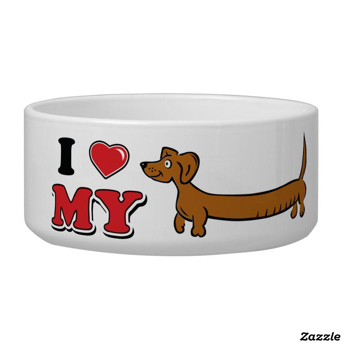 Create Your Own Ceramic Pet Bowl Zazzle Com In 2020 Pet Bowls