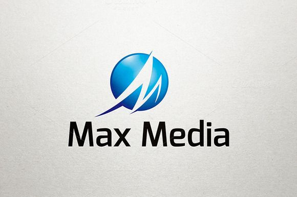 M Logo - Max Media Logo Logos and Logo design template - fresh blueprint entertainment logo