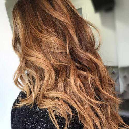 Beautiful Color Hair Caramel
