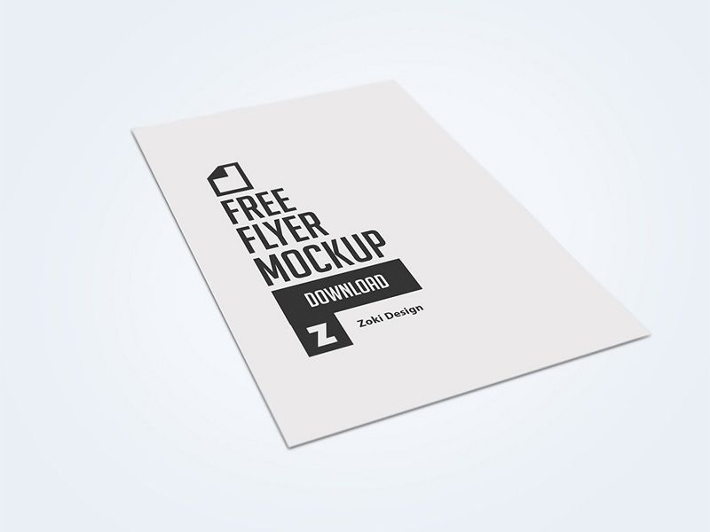 Flyer Mockup Templates Flyer Mockup Flyer Mockup Free Flyer