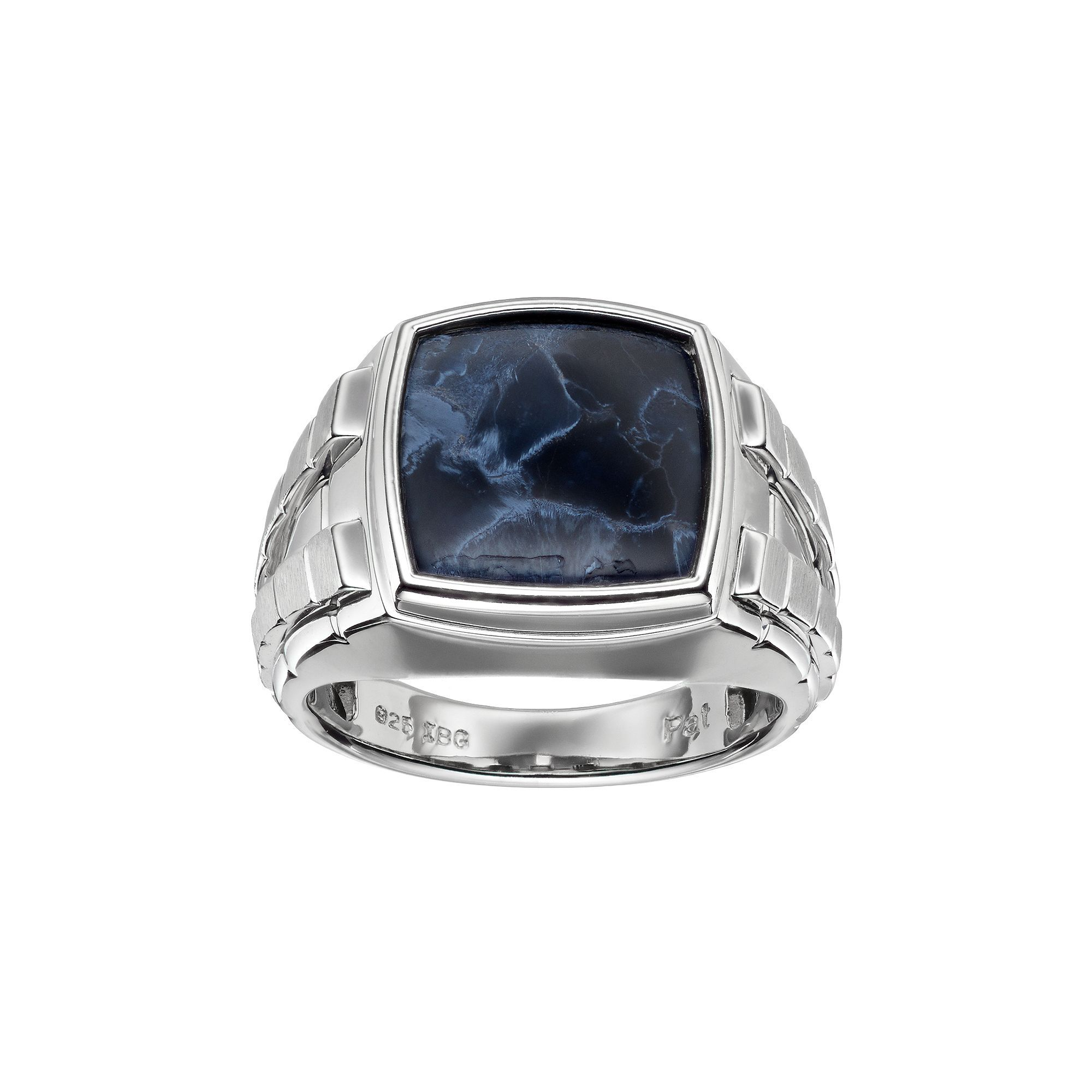 ana sterling products co ring handcrafted silver size rings pietersite by