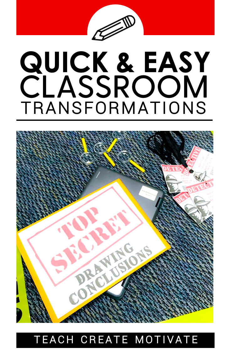 Easy Classroom Transformations Teach Create Motivate in