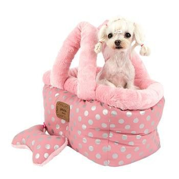 Chic Basket Dog Bed And Car Seat By Pinkaholic