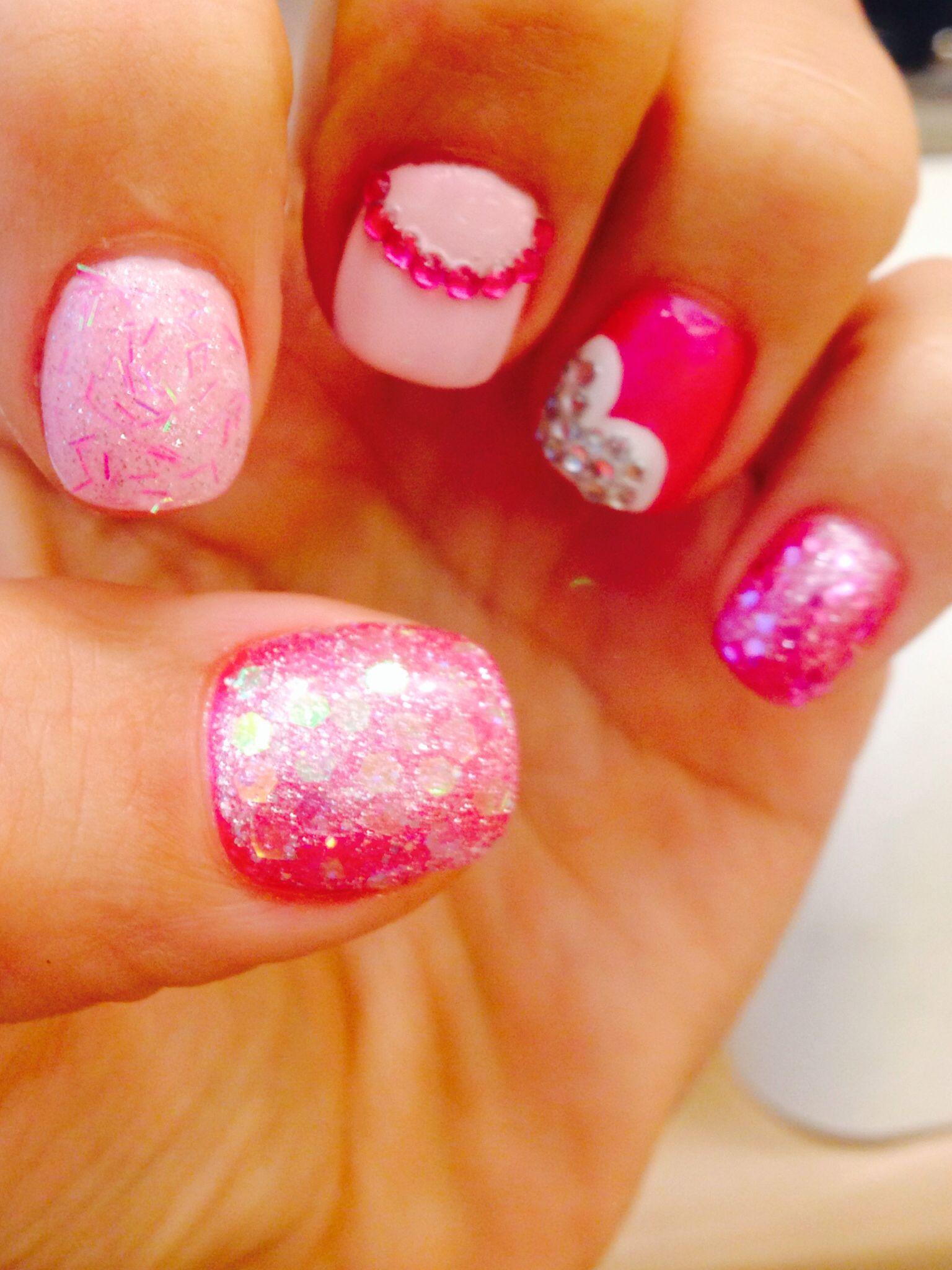 Nails by Juliet - SPARKLE OBSESSION! Lovelovelove them!
