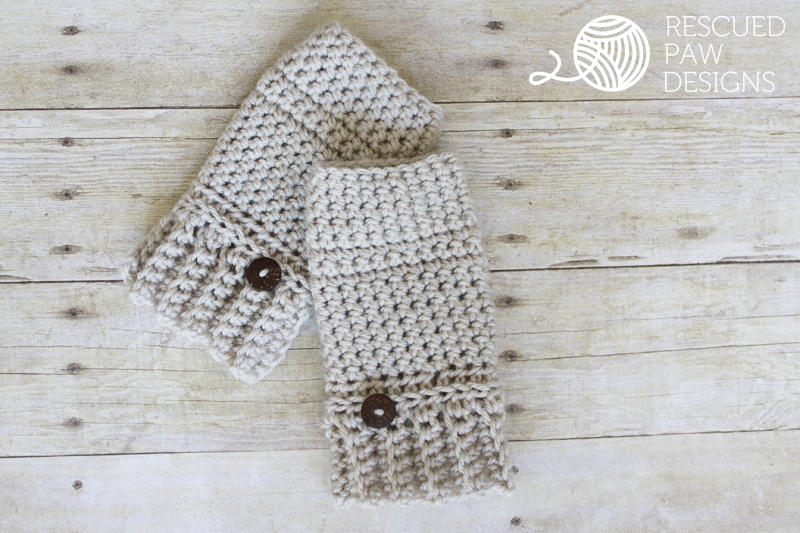 Simple Crochet Hand Warmer Pattern Crochet Gloves Pattern Crochet