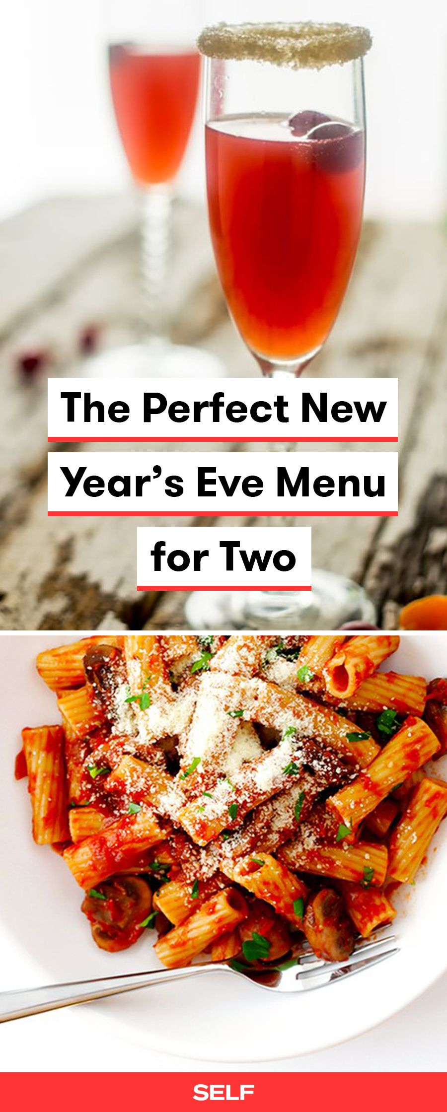 The Perfect New Year's Eve Menu For Two New years eve