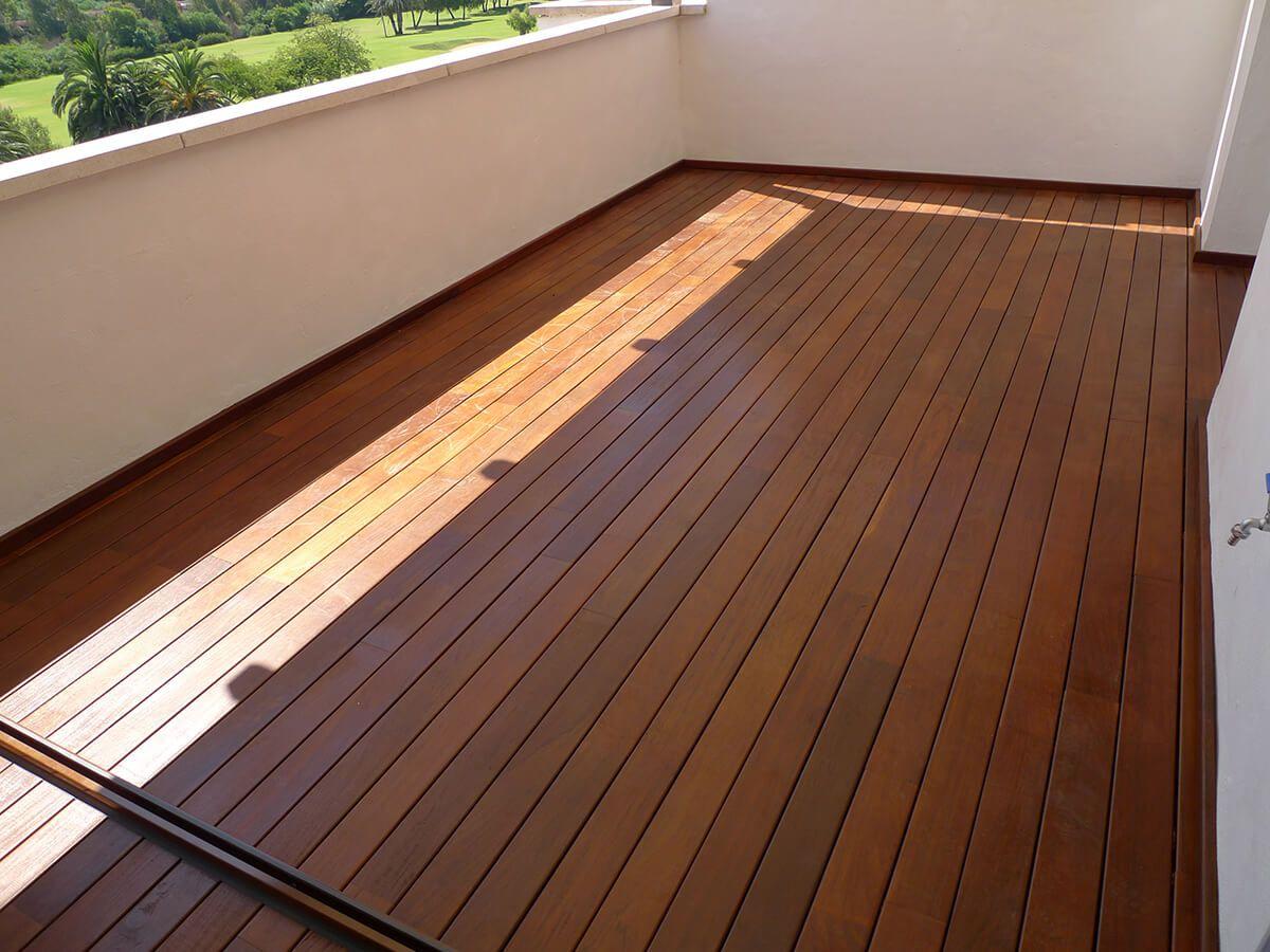 coberti suelo de exterior de madera natural en terraza suelos exterior intemperie - Suelos De Terraza