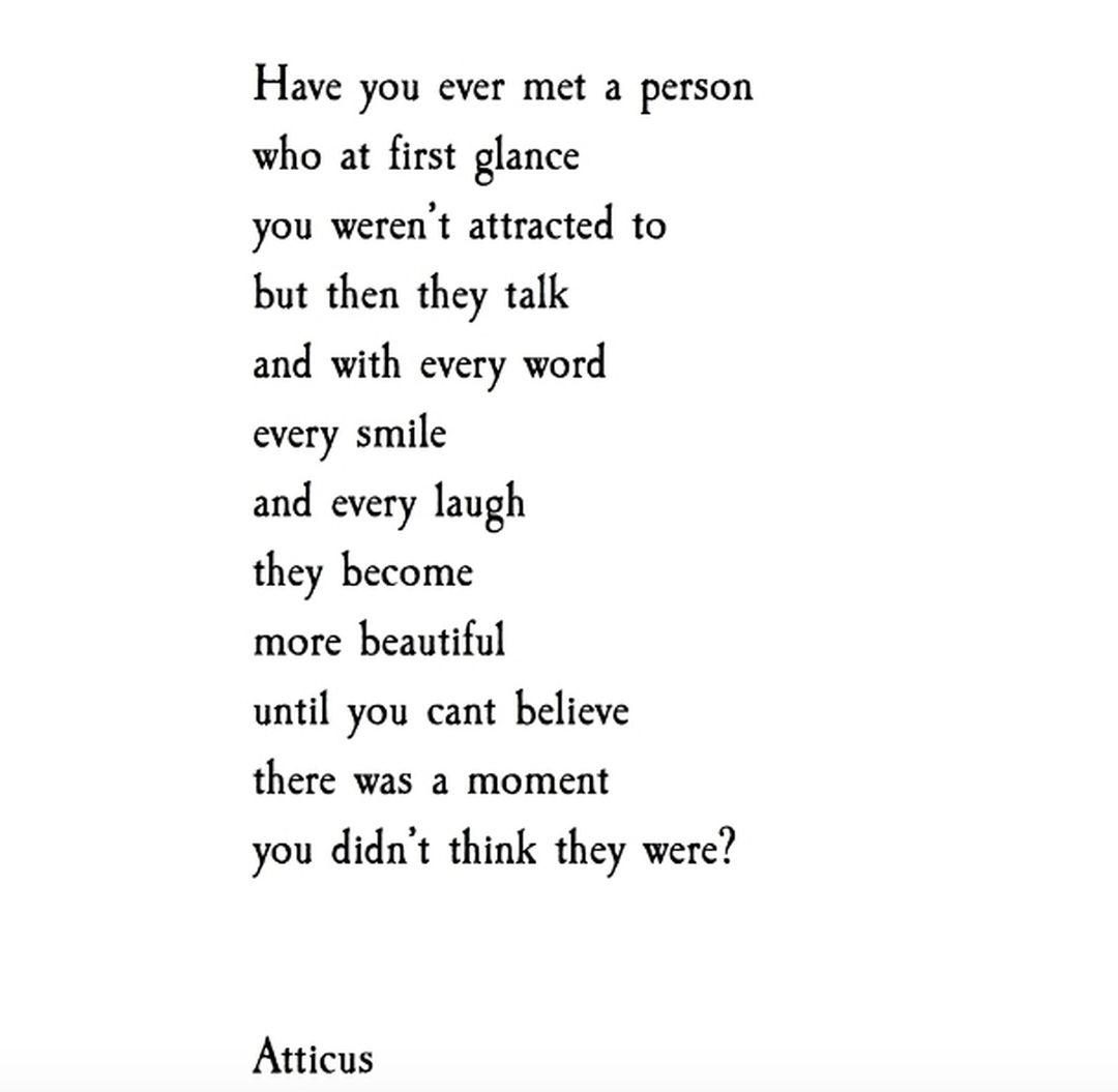 """ATTICUS on Instagram: """"#atticuspoetry"""""""