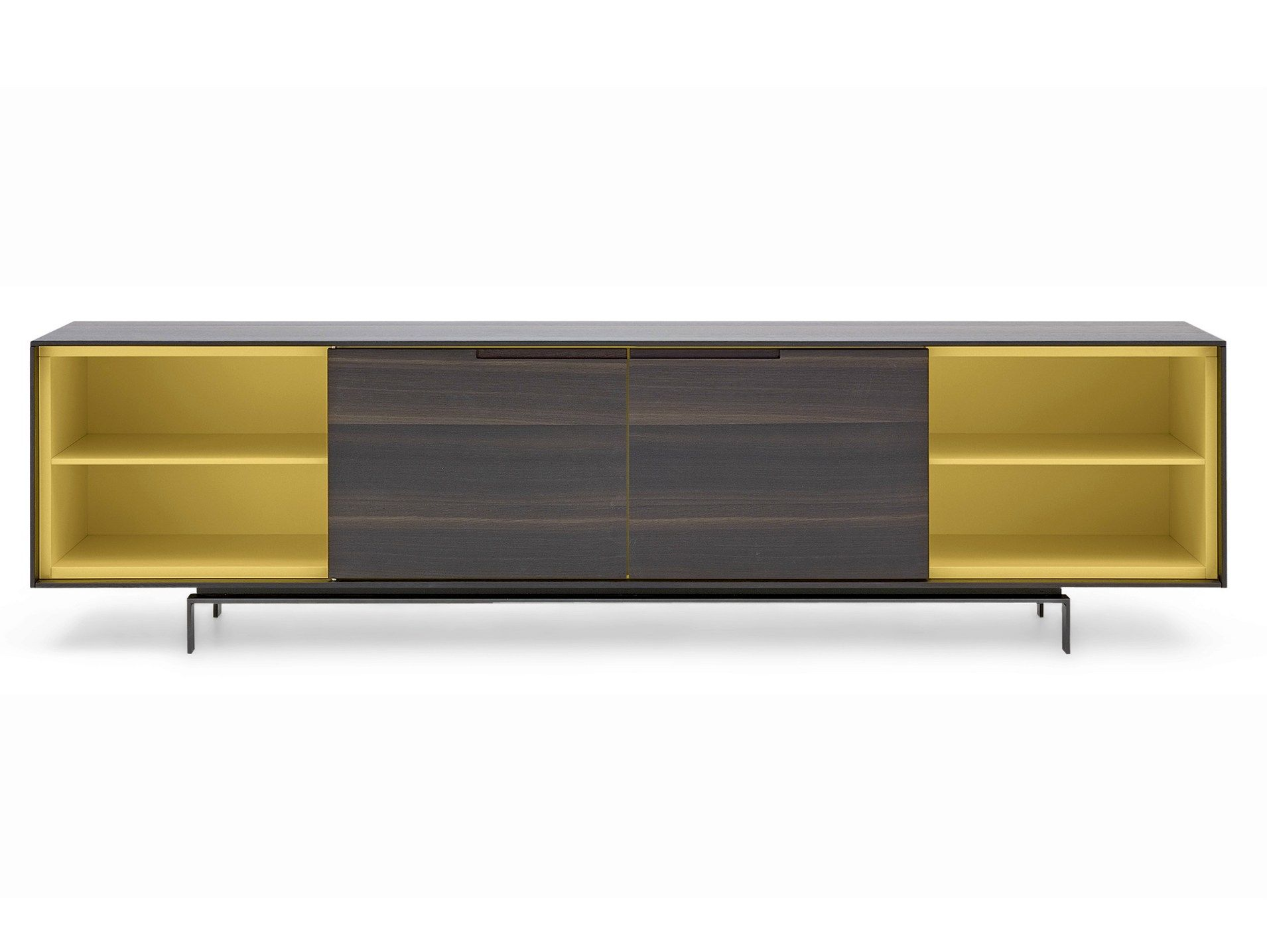 Buffet Laque En Chene Meuble Design Mobilier Italien Buffet Laque